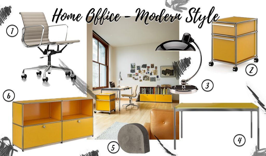 Home Office - Modern Style