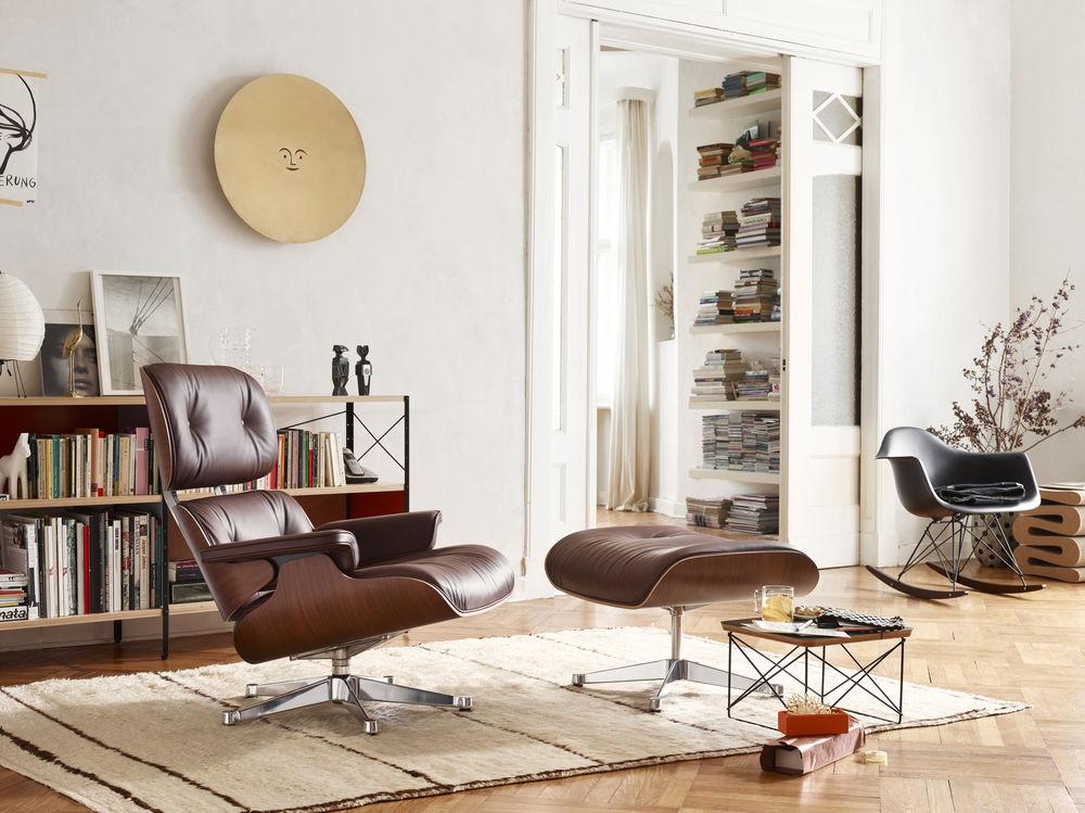 Fantastisch Der Eames Lounge Chair Von Vitra Feiert Geburtstag By Design Bestseller