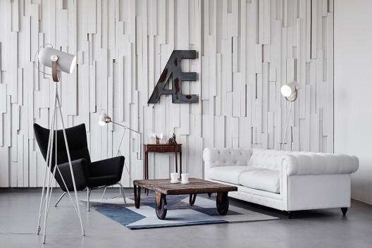 Carronade Stehleuchte - LE KLINT - dänische Designerleuchten mit Geschichte by Design Bestseller