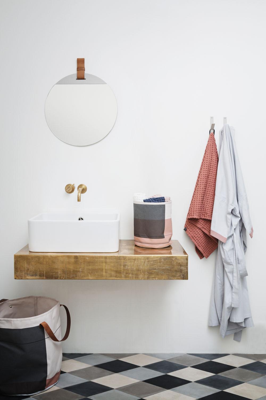 Colour Block Wäschekorb - Herbst-Neuheiten von ferm Living by Design Bestseller