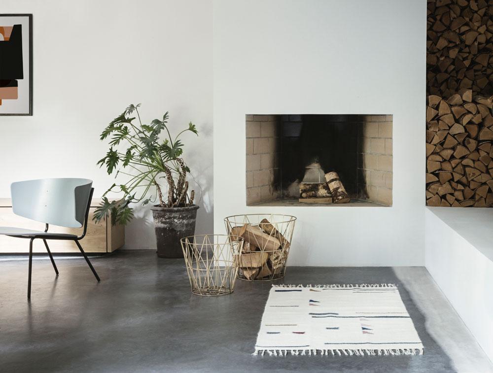 Wire Basket von ferm Living - Unsere Top 10 der Wohnaccessoires by Design Bestseller