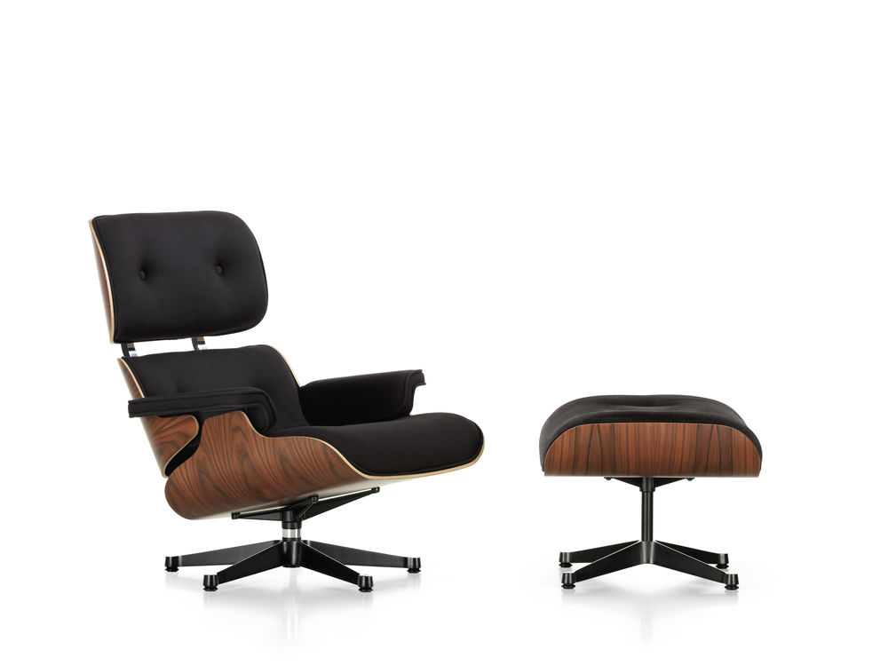 Lounge Chair in Stoff - Limited Edition des Lounge Chair & Ottoman von Vitra by Design Bestseller