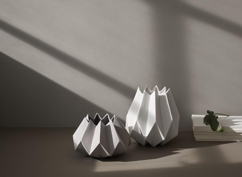 Folded Vase von Menu - Unsere Top 10 der Vasen