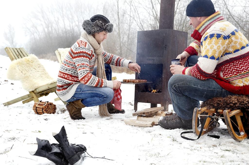 Licht und Wärme für winterliche Feiertage