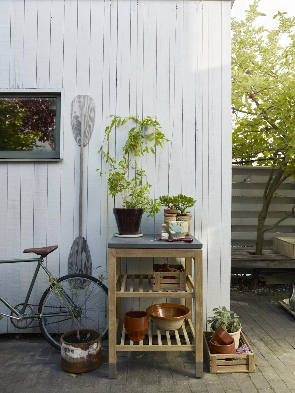 Praktisches Design für den Garten