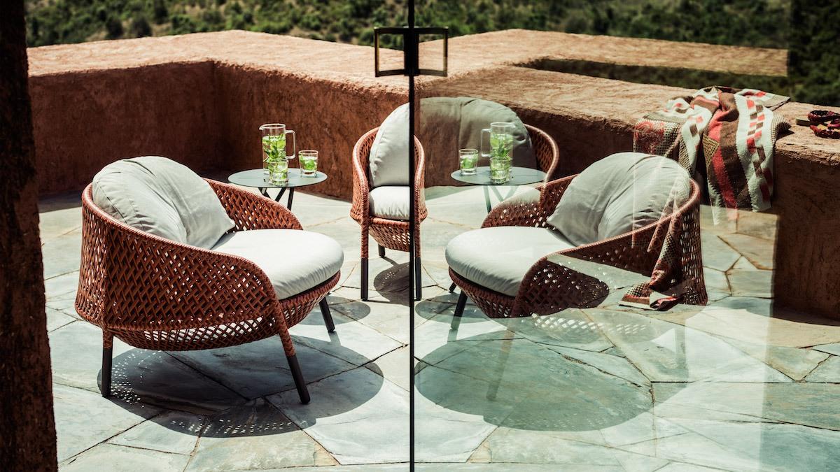 Outdoor Lounge: Ahnda von Dedon