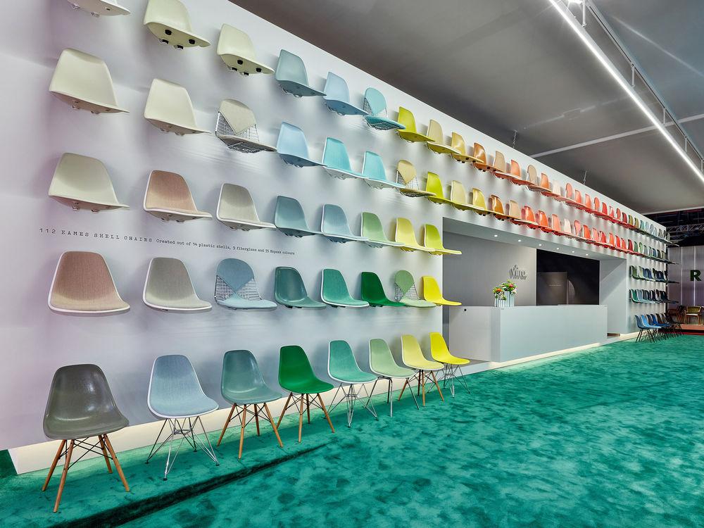 Neue Farbrange für den Eames Plastic Chair