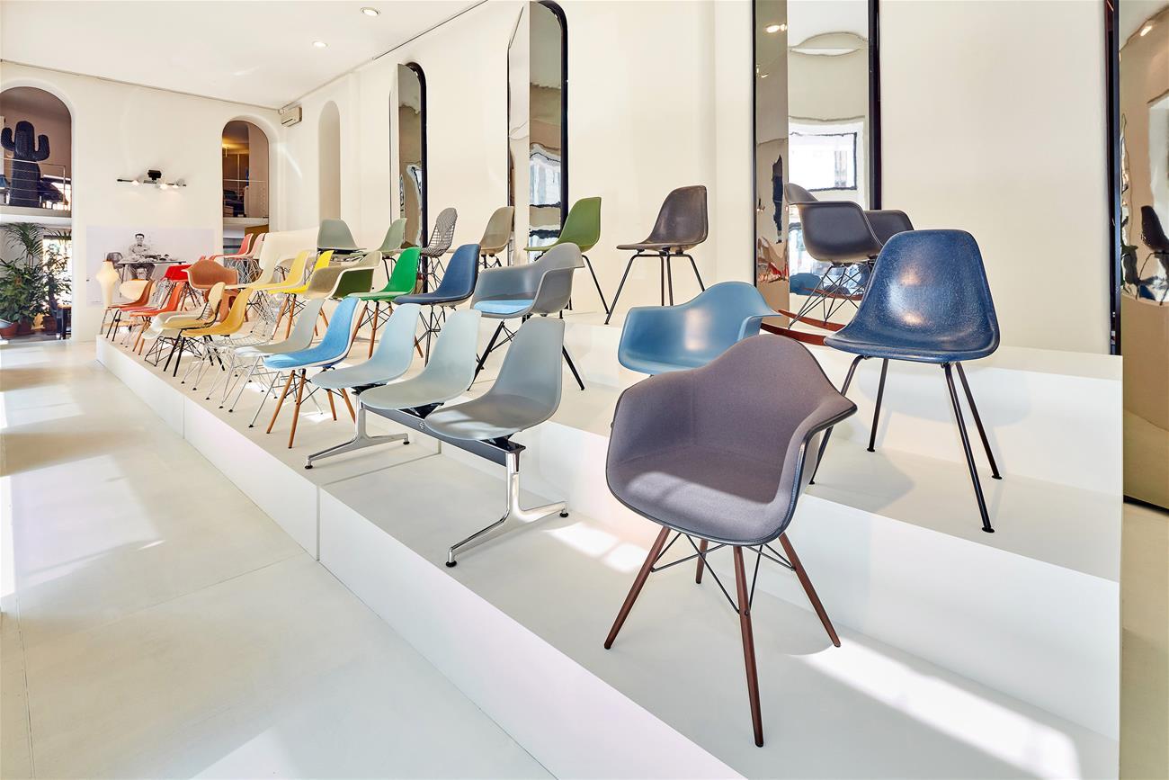 Neue Farbrange für den Eames Chair