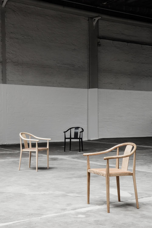 Shanghai Chair in drei Ausführungen