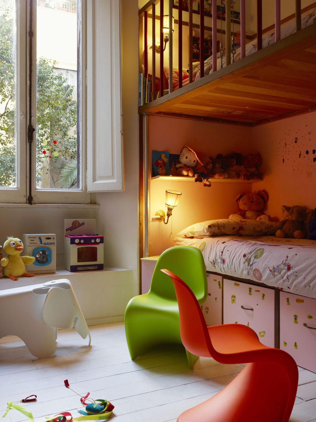Eames Elephant im Kinderzimmer