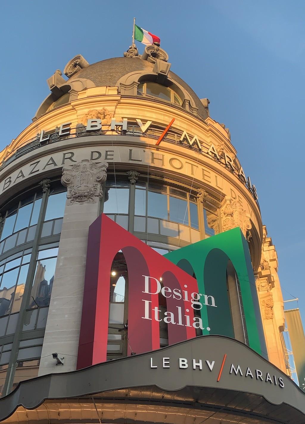 Le BHV / Marais Fassade. Design Bestseller in Paris