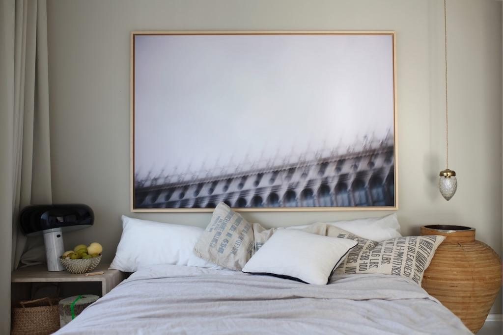 Zu Besuch bei Anastasia Benko. Blick ins Schlafzimmer