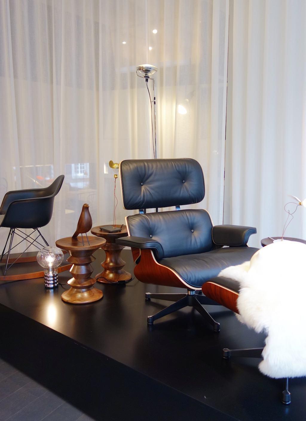 40 Jahre Mathes in Aachen: Eames Möbel von Vitra