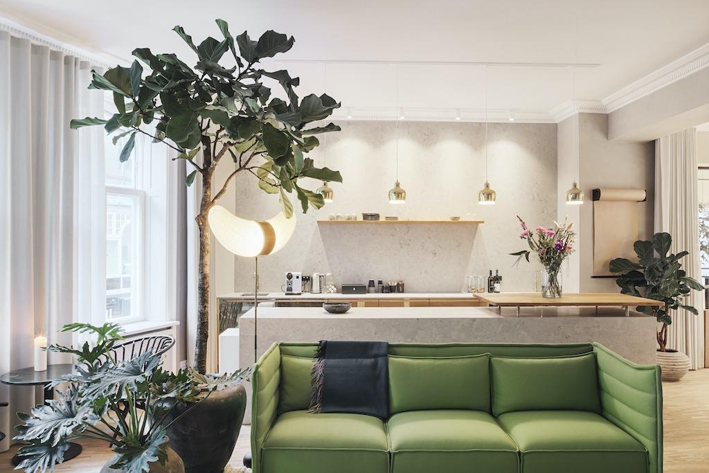 Grün im Interieur - Modefarbe und Evergreen