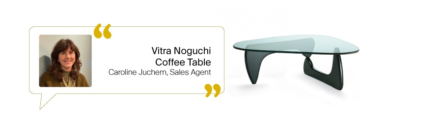 Tischfavoriten aus dem Design Bestseller Team: Noguchi Coffee Table