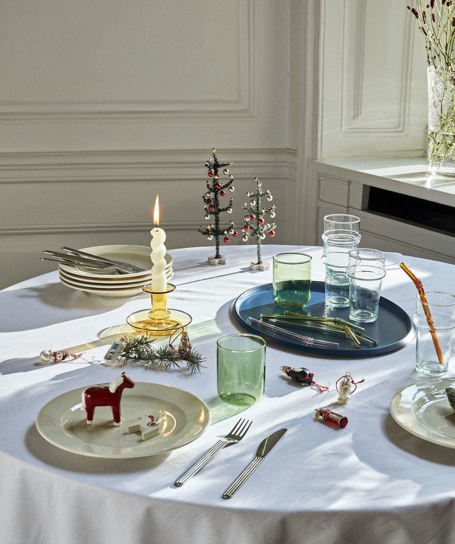 Festliche Tischdeko für die Feiertage: Julebord