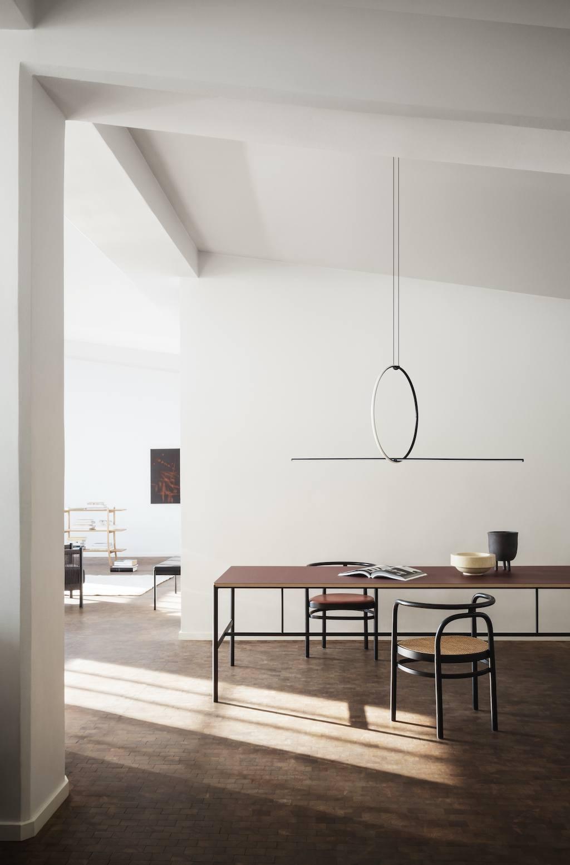 Loft Living mit hohen Decken und hellen Räumen