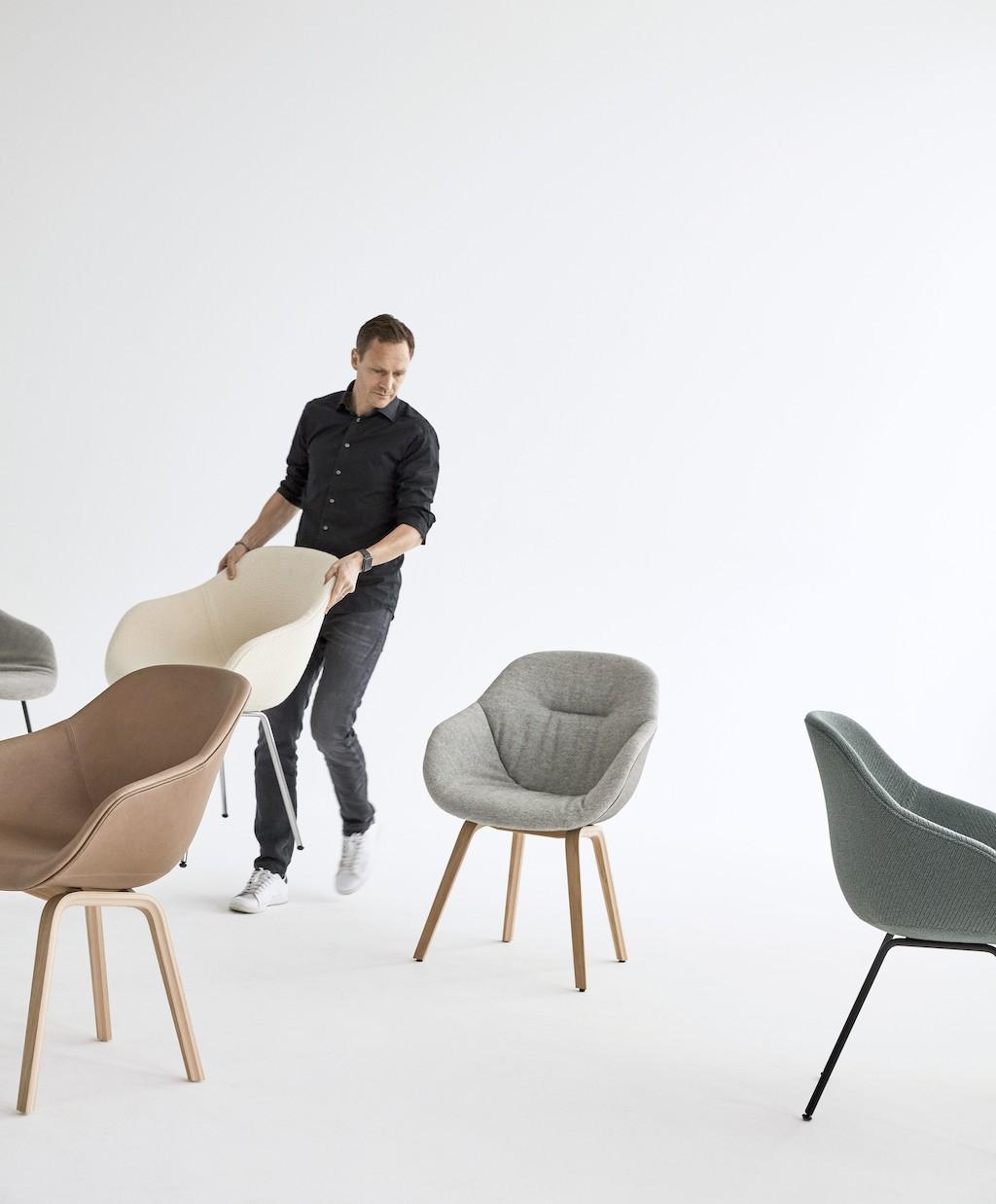 Neues von HAY: About A Chair Eco: Designer Hee Welling und seine Stuhlkreationen