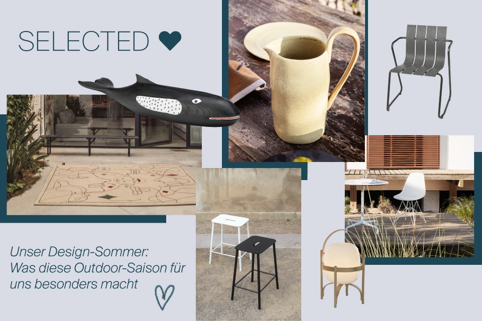 SELECTED Outdoor: Das ist unser Designsommer 2020