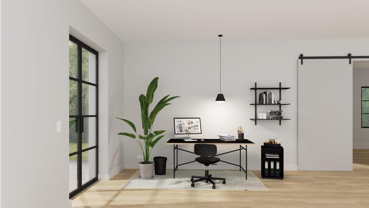 4 einfach umsetzbare Styles fürs Home-Office: Minimal
