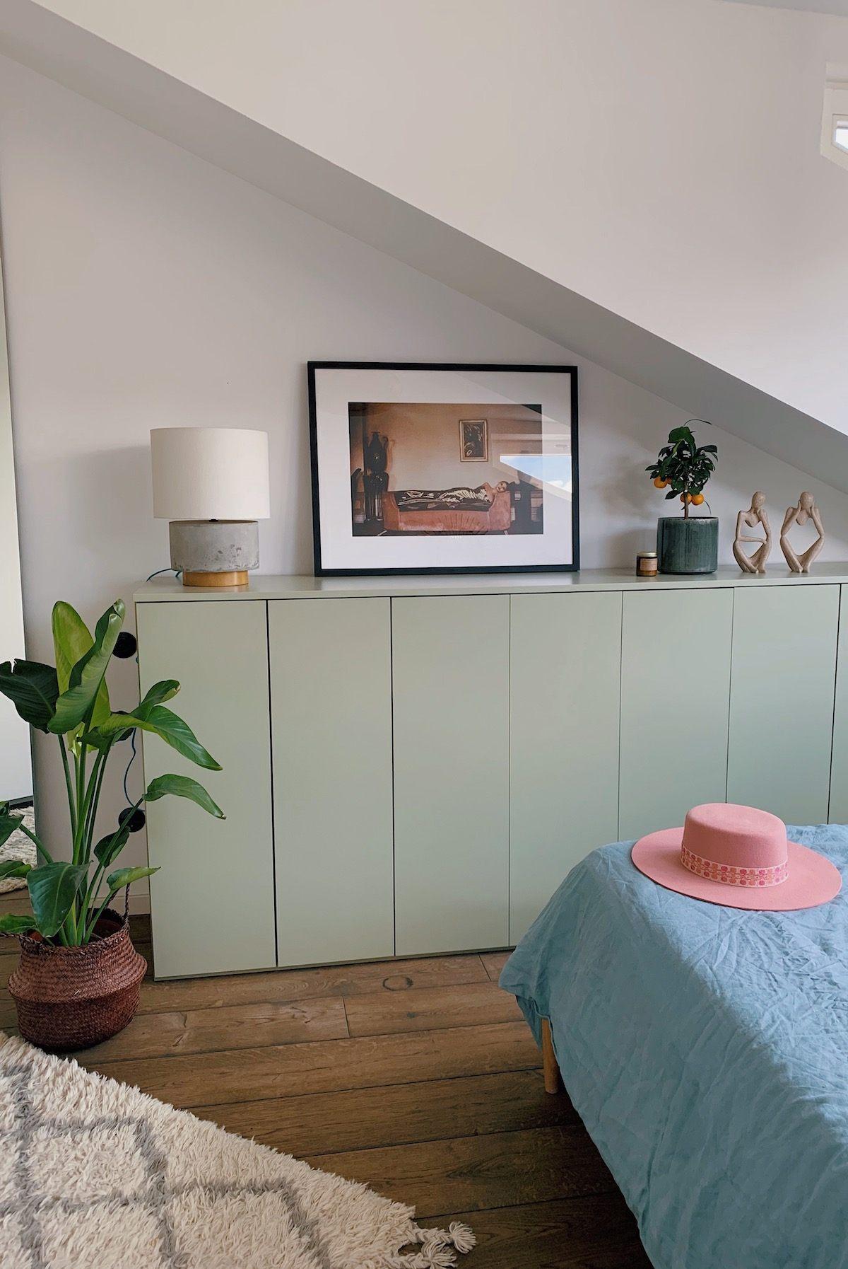 Homestory und Interview mit Cloudy Z - Schlafzimmerdetail