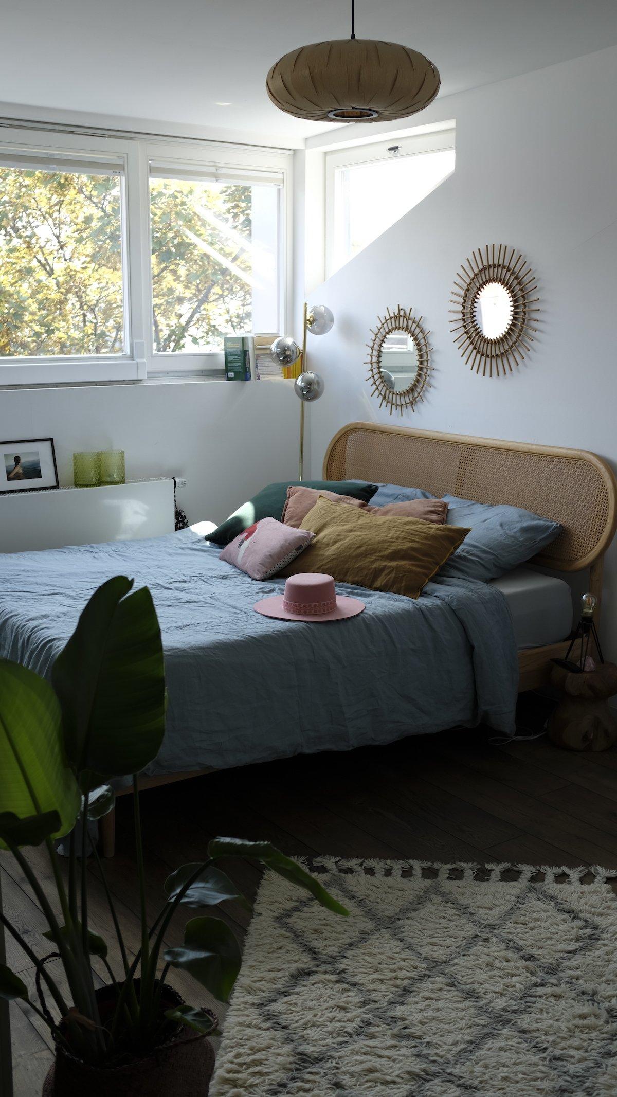 Homestory und Interview mit Cloudy Z - Schlafzimmer