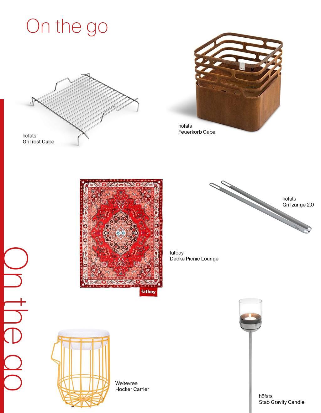 1 Möbel 3 Looks - Special Edition Feuerschale