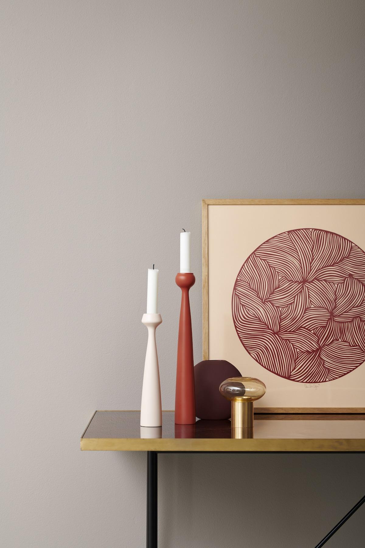 5 Essentials im Herbst - Blossom Kerzenhalter von applicata