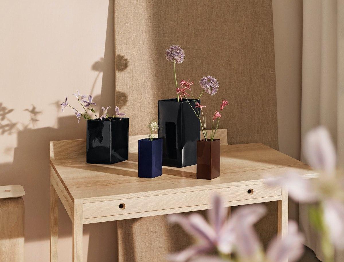 5 Essentials im Herbst - Ruutu Vasen von iittala in verschiedenen Größen