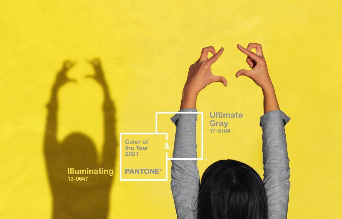 Trendorakel 2021: Pantone Farben des Jahres Ultimate Grey und Illuminating
