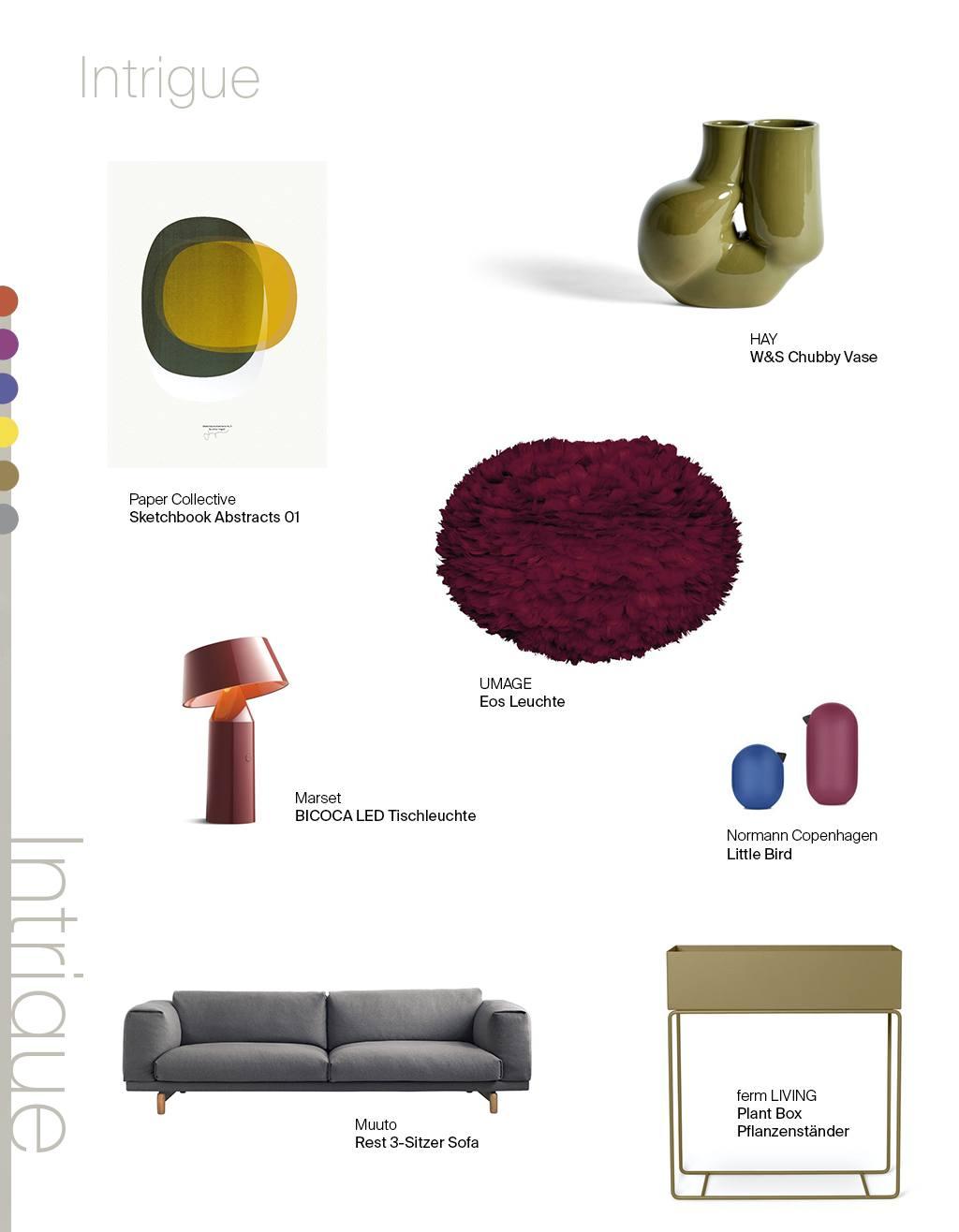 1 Möbel, 3 Looks: Pantone Special. Intrigue