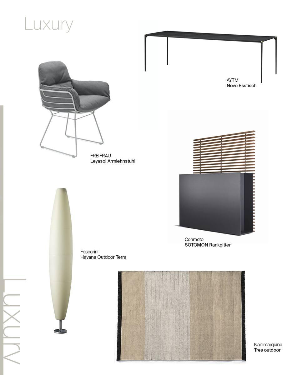 1 Möbel, 3 Looks: AYTM Novo Esstisch: Luxury