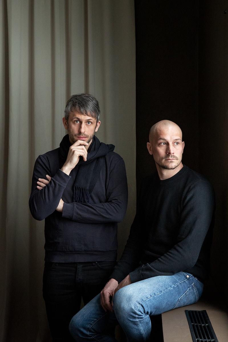 Studiobesuch bei Morten & Jonas: Portrait Morten und Jonas