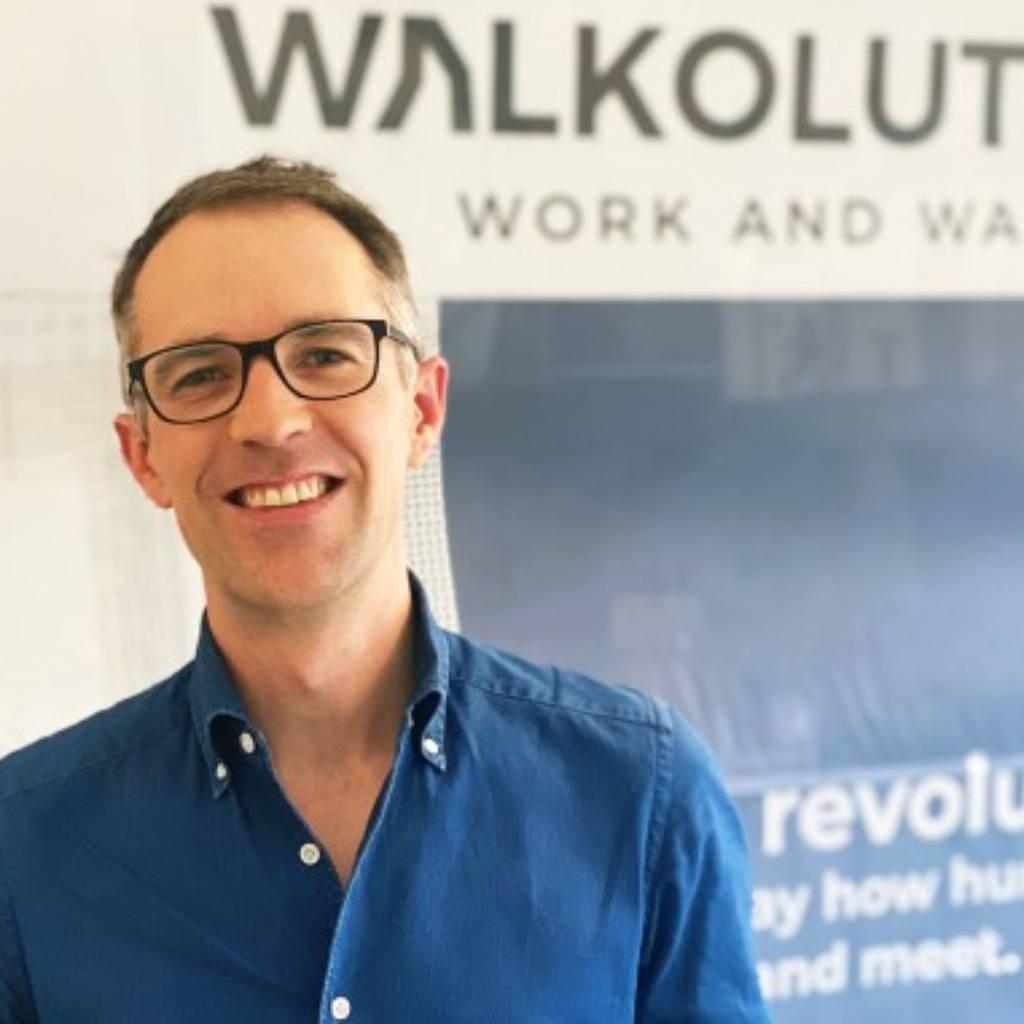 Portrait von Walkolution-Gründer Dr. Eric Söhngen
