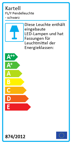 FL/Y PendelleuchteEnergy Label