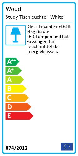 Study TischleuchteEnergielabel