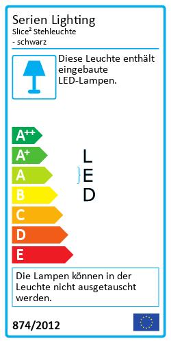 Slice² StehleuchteEnergy Label