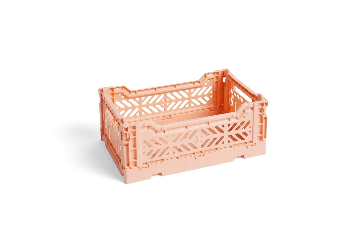 Colour crate s salmon wb