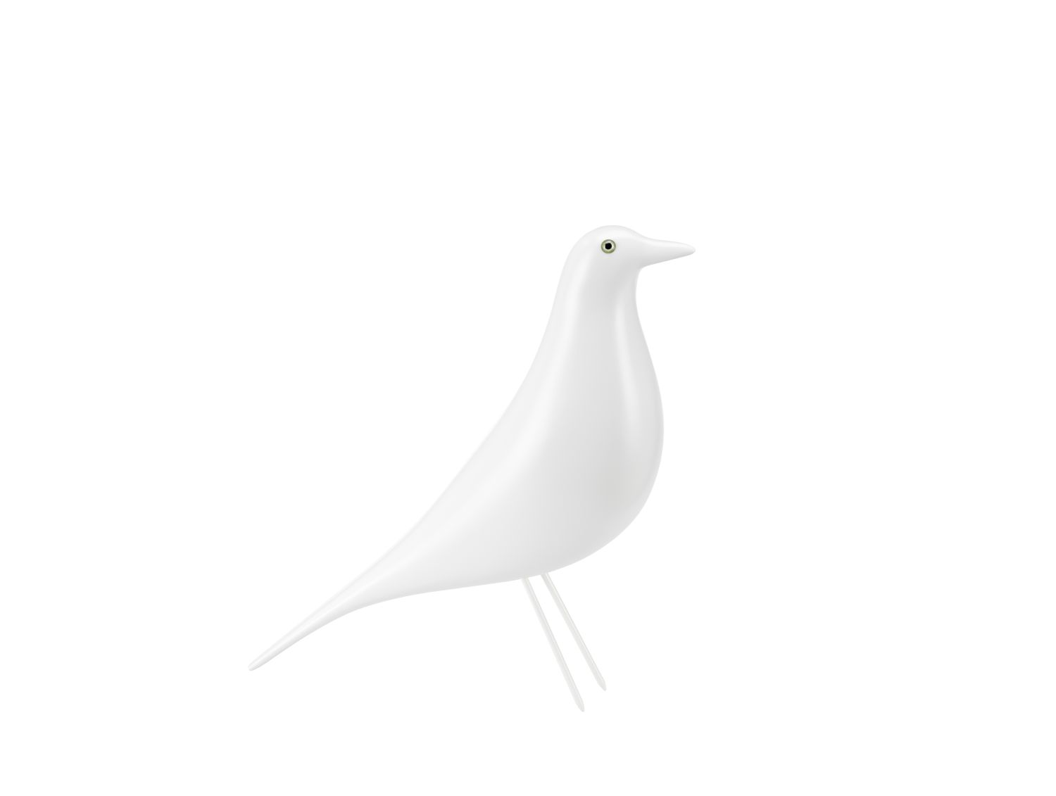 Limited Edition Eames House Bird - weiß