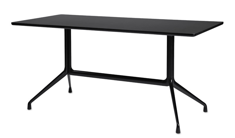 HAY About A Table AAT10 - 180 x 90 cm - schwarz WIDTH=