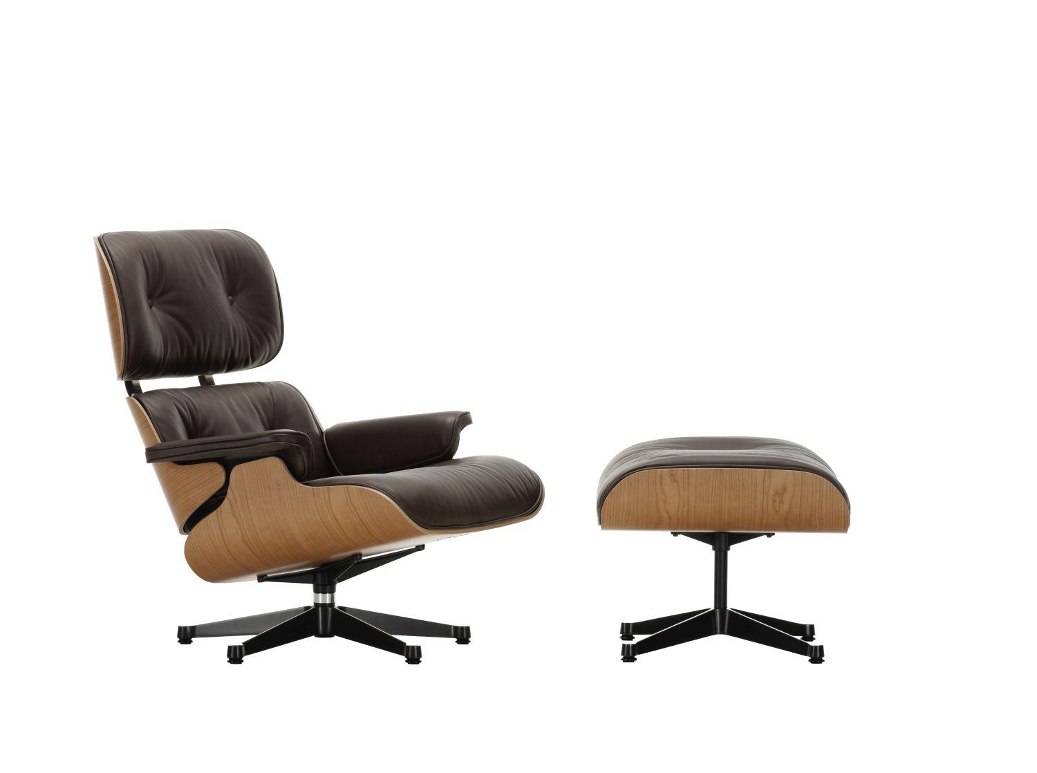 Vitra lounge chair ottoman xl amerikanischer for Eames chair nachbau
