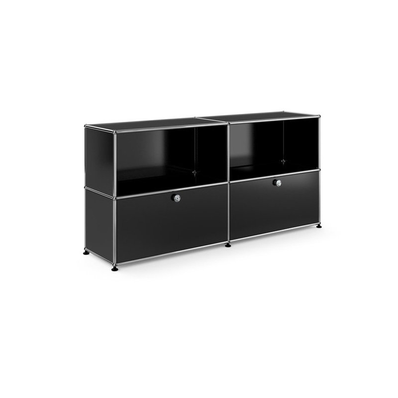 usm haller sideboard m 2 klappen shop i design. Black Bedroom Furniture Sets. Home Design Ideas