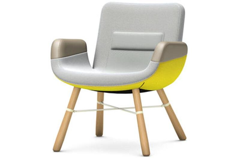Vitra - East River Chair Sessel - light, Eiche natur - indoor | Wohnzimmer > Sessel > Loungesessel | Vitra