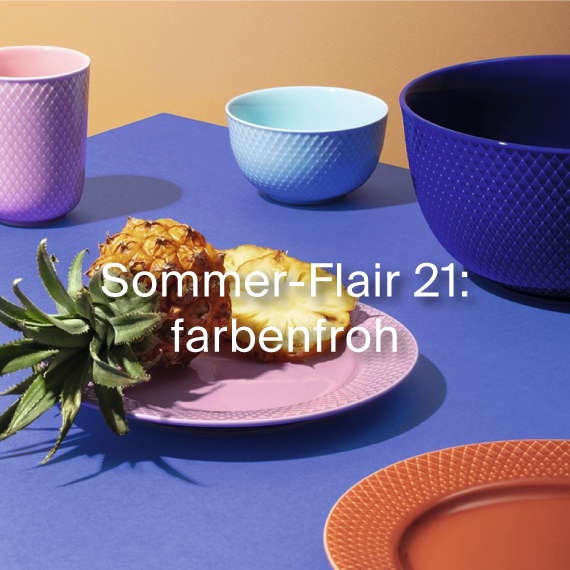 Selected by design-bestseller outdoor farbenfroh