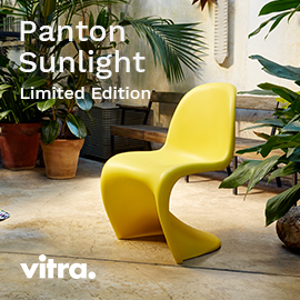 Panton Chair limited Edition sunlight